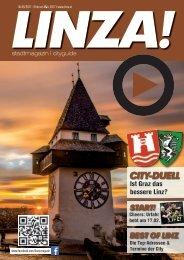 LINZA stadtmagazin Ausgabe #5 – Februar/März 2017
