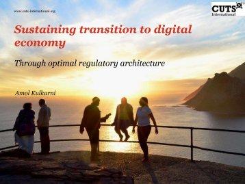 Sustaining transition to digital economy
