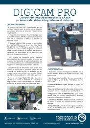 Control de velocidad mediante LÁSER y cámara de ... - Tradesegur