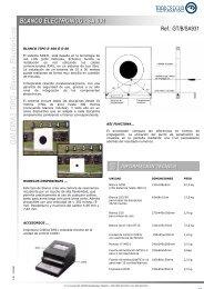 Blanco Electrónico SA931 - Tradesegur
