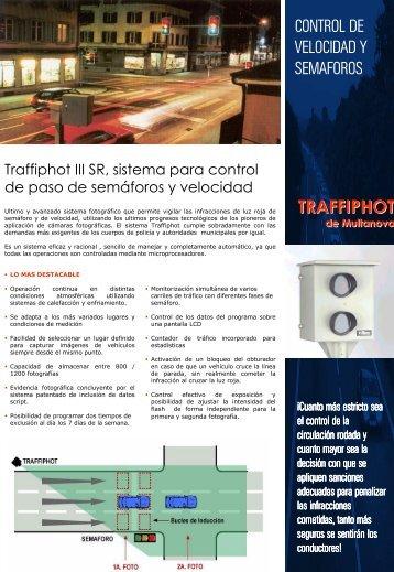 CONTROL DE VELOCIDAD Y SEMAFOROS ... - Tradesegur