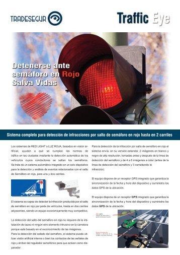 Control de paso de semáforos Red Light Detector - Tradesegur