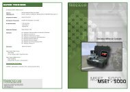 MSET - 5000 - Tradesegur