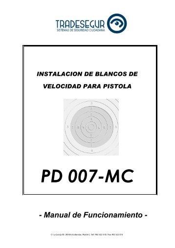 Blancos Velocidad PD700MC Johansen - Tradesegur