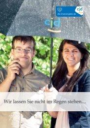Imagebroschüre Wohnangebote CJD Erfurt