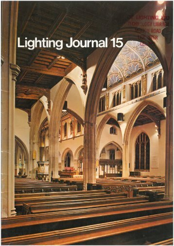 Thorn Lighting Journal No. 15 - the Museum of Electric Lamp ...