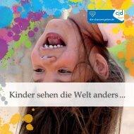 Imagebroschüre CJD-Kindergarten Die kleinen Europäer