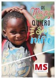 DE MAYOR QUIERO SER NIÑO MS#279