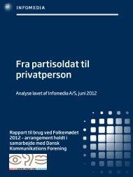 fra Infomedia om medieomtale af politikere - Dansk ...