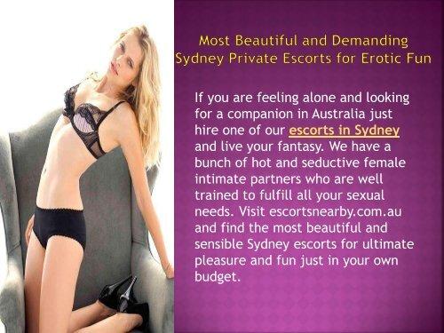 Fun in australia escorts
