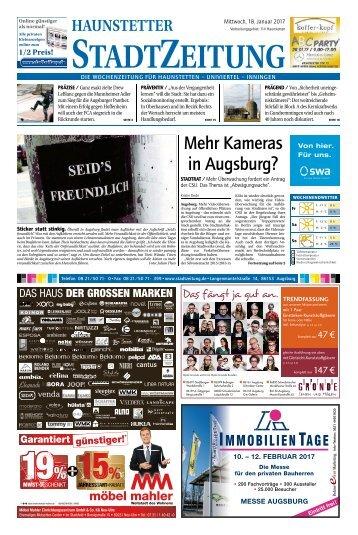 114 Augsburg - Haunstetten 18.01.2017