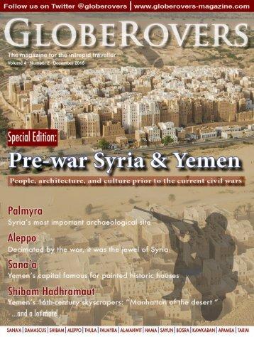 Globerovers Magazine, Dec 2016