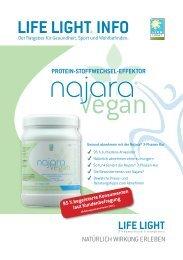 najara vegan - Proteingetränkpulver