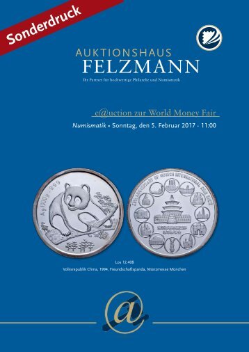 Auktionshaus Felzmann - Auktion-1013 - Numismatik