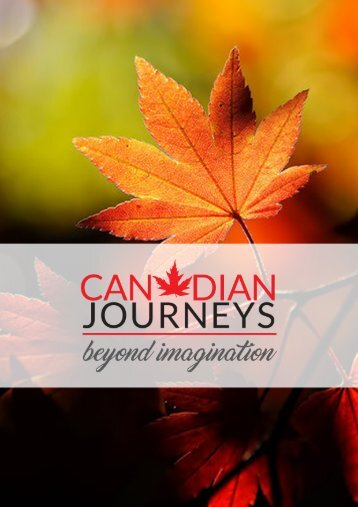 e book canadian journeys part 1
