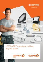LEDVANCE Professional Lighting Buyers Guide