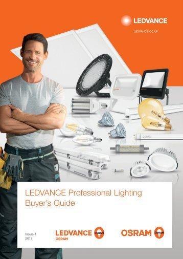 LEDVANCE Professional Lighting Buyers Guide