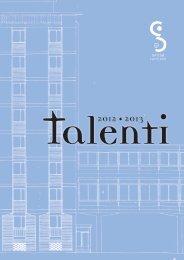 Talenti 2012/13