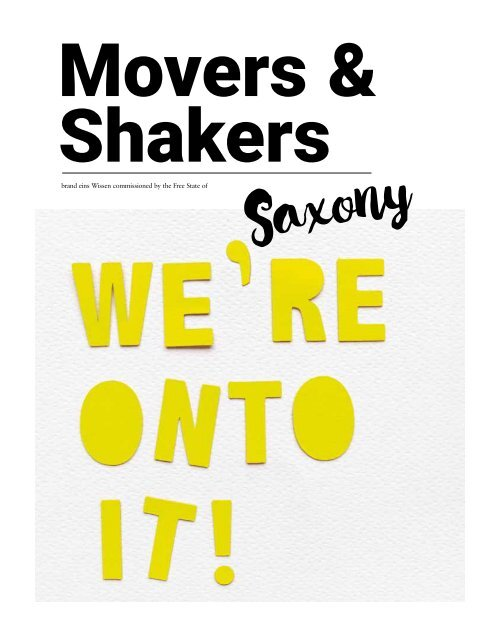 Saxony Movers & Shakers