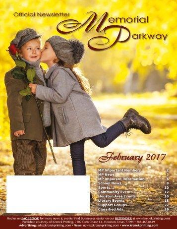 Memorial Parkway February 2017