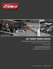 2017 DEMCO TOWING CATALOG