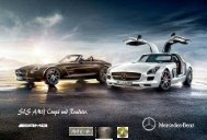 EX3 Broschure des SLS AMG Coupe