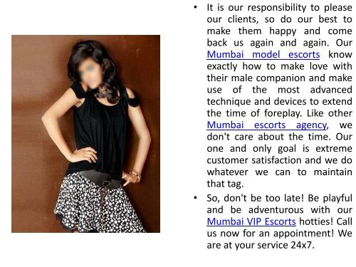 Be Playful & Be Adventurous With Mumbai Hotties