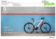 bikeimpuls SCOTT Urban und E-Bikes 2017