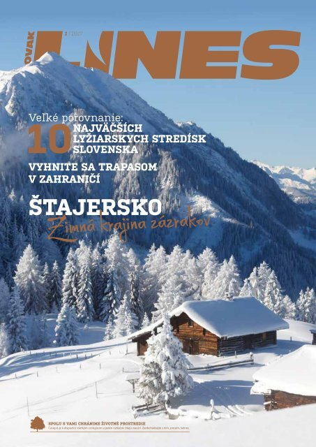 In Drive Magazin Slovak Lines 1/2017