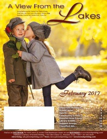 The Lakes February 2017