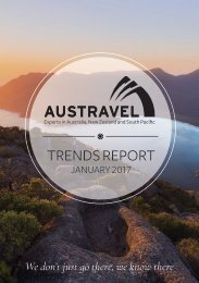 Austravel Trend Report 2017