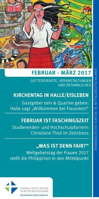 Programm des Evang. Kirchenkreises Halle-Saalkreis für Februar und März 2017