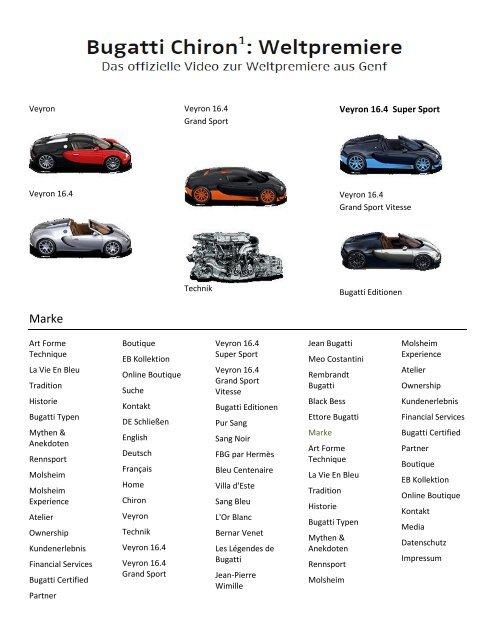 ex3 Bugatti Chiron 2017 Genf