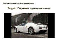 Der letzte Bugatti Veyron 2017 zum versteigern