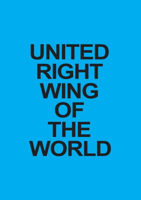 United Right-Wing of the World