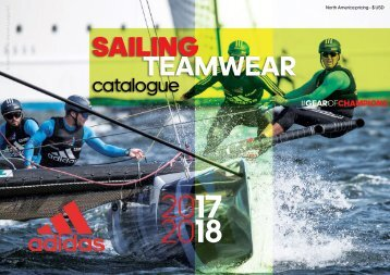 US adidas Sailing Teamwear Catalogue 2017/2018