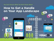 How to Get a Handle on Your App Landscape