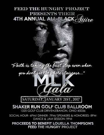 4th Annual MLK GALA 2017 Program