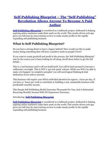 Dna wealth blueprint 30 bonus self publishing blueprint review self publishing blueprint 100 bonus items malvernweather Gallery