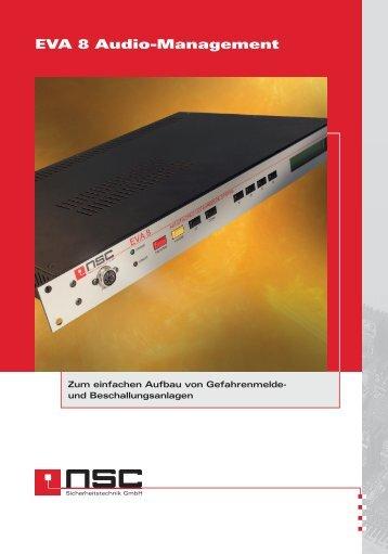 EVA 8 Audio-Management Download - NSC Sicherheitstechnik GmbH
