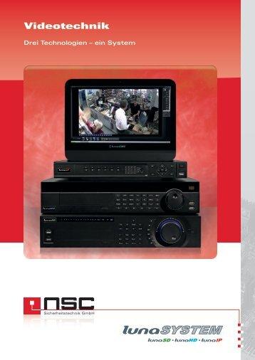 Videotechnik - NSC Sicherheitstechnik GmbH
