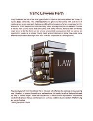 TrafficLawyersPerth