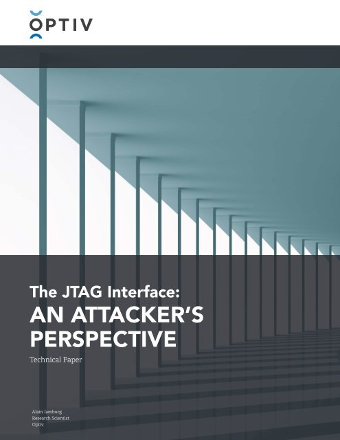 AN ATTACKER'S PERSPECTIVE