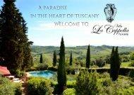 Villa La Cappella - A paradise in the heart of Tuscany