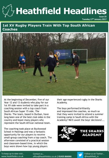 Heathfield Headlines
