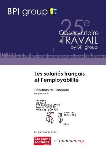 Les salariés français et l'employabilité