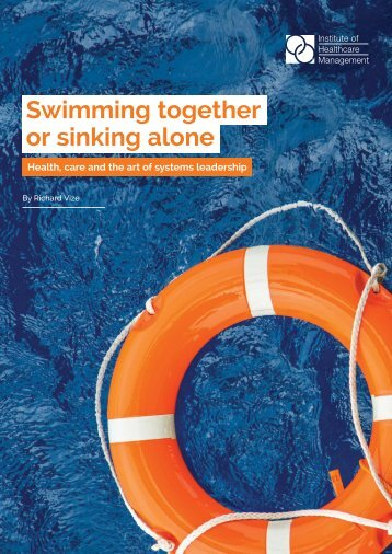 Swimming together or sinking alone