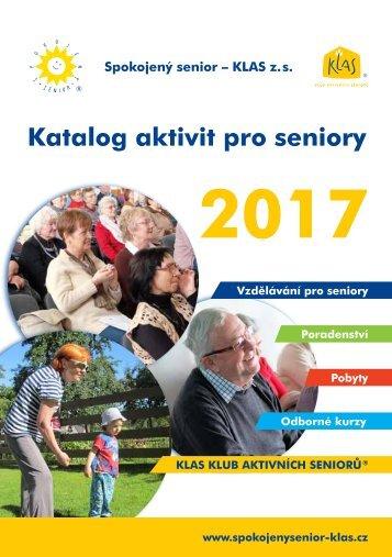 Katalog aktivit pro seniory 2017