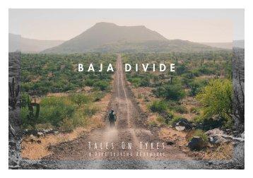 THE BAJA DIVIDE