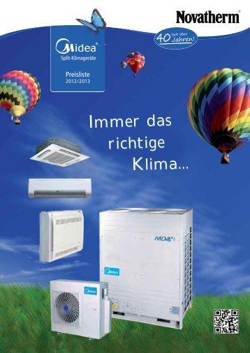 M D V - Serie V4+ i - Novatherm Klimageräte GmbH